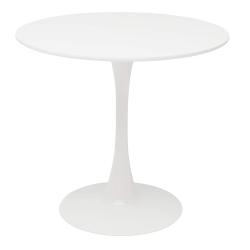 Jedálenský stôl, biela matná, REVENTON