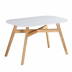 Jedálenský stôl, CYRUS NEW, poškodený tovar-obité hrany