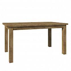 Jedálenský stôl, rozkladací, dub lefkas, MONTANA STW