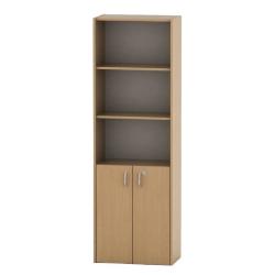 Kancelárska skrinka so zámkom, buk, TEMPO ASISTENT NEW 002