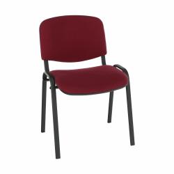 Kancelárska stolička, bordová, ISO NEW C-29