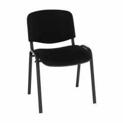 Kancelárska stolička, čierna, ISO NEW C11