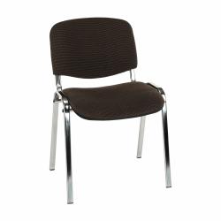 Kancelárska stolička, hnedá, ISO C24