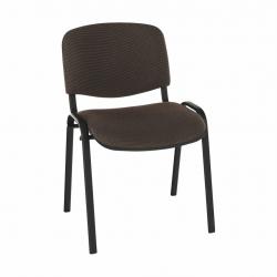Kancelárska stolička, hnedá, ISO NEW C-24