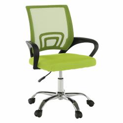 Kancelárska stolička, zelená/čierna, DEX 2 NEW, rozbalený tovar