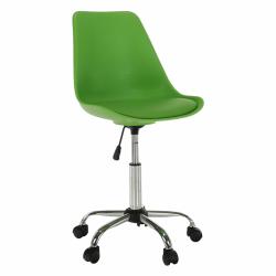 Kancelárska stolička, zelená, DARISA, rozbalený tovar