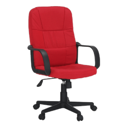 Kancelárske kreslo, červená, TC3-7741 NEW