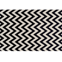 Koberec, slonovinová/tmavosivá, 200x285, ADISA