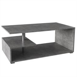 Konferenčný stolík, betón, DORISA, poškodený tovar