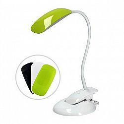 LED stolná lampa, biela základňa/vymeniteľné kryty, WO42