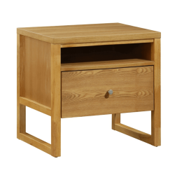 Nočný stolík, dub, IRISUN