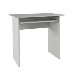 PC stôl, biely, VERNER NEW