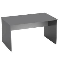 PC stôl, grafit/biela, RIOMA TYP 11