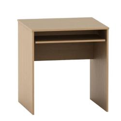 Písací stôl s výsuvom, buk, TEMPO ASISTENT NEW 023