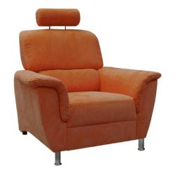 Relaxačné kreslo, oranžová, SAN DIEGO