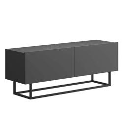 RTV stolík bez podstavy, grafit, SPRING ERTV120