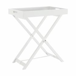 Servírovací stolík, biela, PATROL