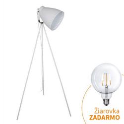 Stojacia lampa, biela, TORINO WA001-W