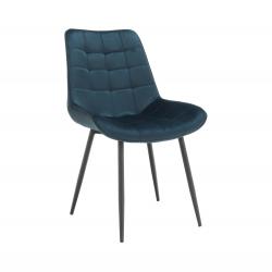 Stolička, modrá/čierna, SARIN, rozbalený tovar