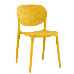 Stolička, žltá, FEDRA