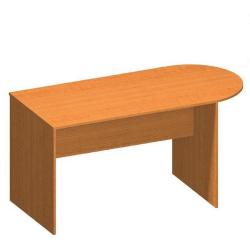 Zasadací stôl s oblúkom 150, čerešňa, TEMPO ASISTENT NEW 022